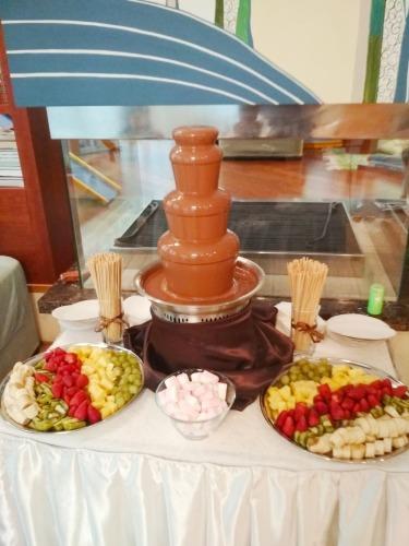 Шоколадный фонтан на день рождения